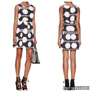Plenty by Tracy Reese 14 Tasha polka dot dress